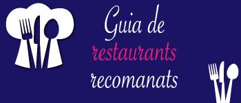 Guia de restaurants recomanats 350x150px