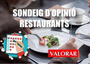 Sondeig d'opinió millors restaurants