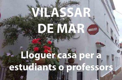 Lloguer de casa en Vilassar de Mar